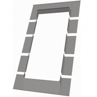 Fakro 69408 ELA Flashing for Flat Roofs, 24x46 Inches