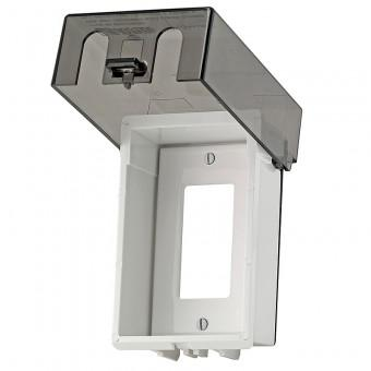Leviton T5979-T Telescoping While In Use Cover, Almond
